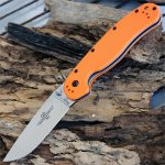 Нож Ontario Rat Folder 1, Orange, D2