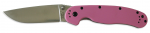 Нож Ontario Rat Folder 1, Pink, Satin Plain